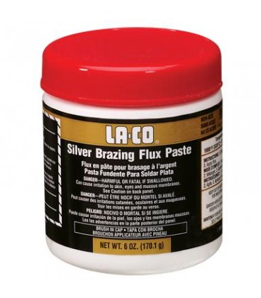 LACO SILVER BRAZING FLUX - Decapante en pasta para soldadura fuerte