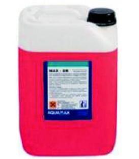 AL-BE Desincrustante líquido concentrado para aluminio y aleaciones ligeras MAX DA