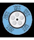 THERMAX CLOCK INDICATORS - 1 [PACK10] [104F-130F] (THE05C-1)