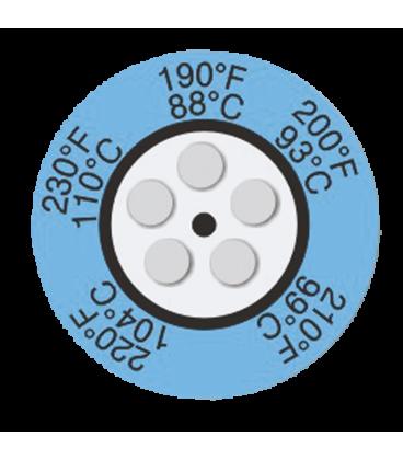 THERMAX CLOCK INDICATORS - 8 [PACK10] [450F-500F] (THE05C-8)
