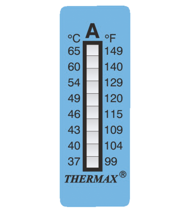 THERMAX 8 LEVEL STRIPS - A [PACK10] [ 99F-149F] (THE08S-A)