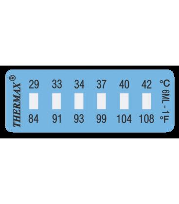 THERMAX 6 LEVEL MINI STRIP-6 [PACK10] [331F-379F] (THE06S-6)