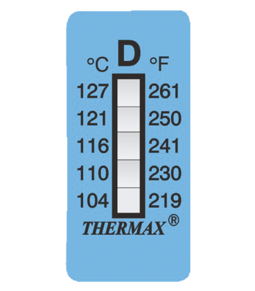 THERMAX 5 LEVEL STRIPS - B [PACK10] [120F-160F] (THE05S-B)
