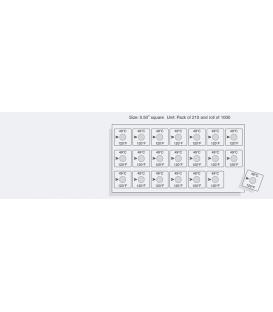 TEMPILABEL SERIES 21-100F [PACK210] (TLL21100PK)