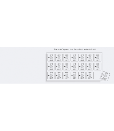 TEMPILABEL SERIES 21-170F [ROLL1000] (TLL21170RL)