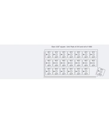 TEMPILABEL SERIES 21-180F [PACK210] (TLL21180PK)