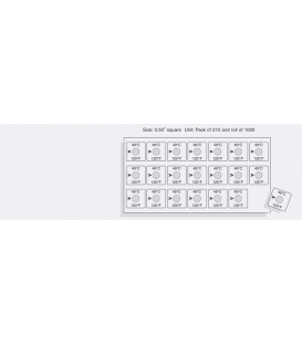 TEMPILABEL SERIES 21-240F [PACK210] (TLL21240PK)