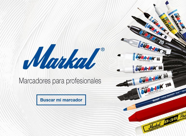 Marcadores Markal para profesionales